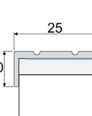 SCHODOVÝ PROFIL SAMO LEPIACI A31
